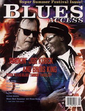 Blues Access magazine cover